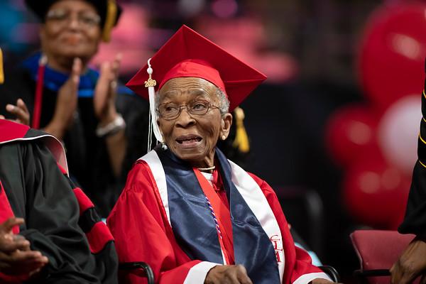 20190510 Commencement 1949 Graduate Mrs Elizabeth Barker Johnson 038Ed