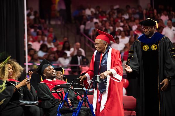 20190510 Commencement 1949 Graduate Mrs Elizabeth Barker Johnson 067Ed