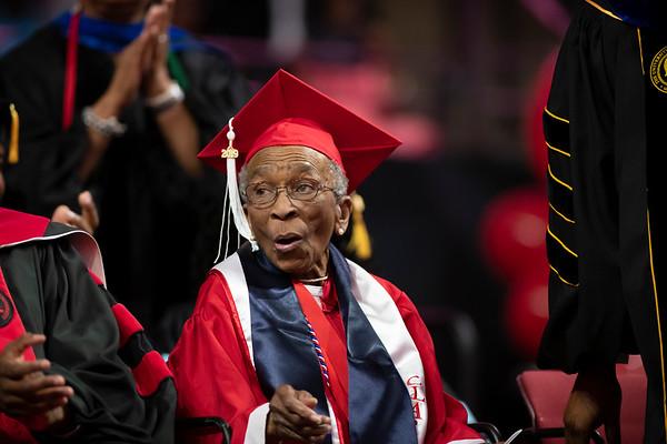 20190510 Commencement 1949 Graduate Mrs Elizabeth Barker Johnson 040Ed