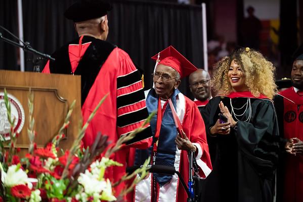 20190510 Commencement 1949 Graduate Mrs Elizabeth Barker Johnson 073Ed