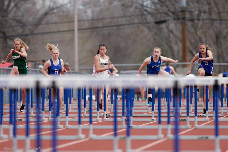 100 meter hurdles  BOCO 2019