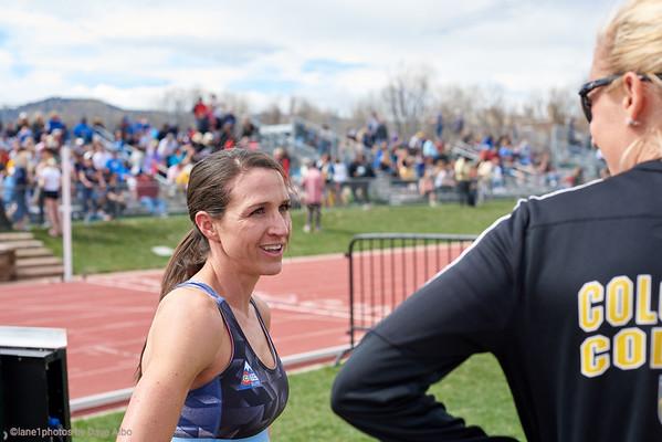 800 meters - CU Invite 2019