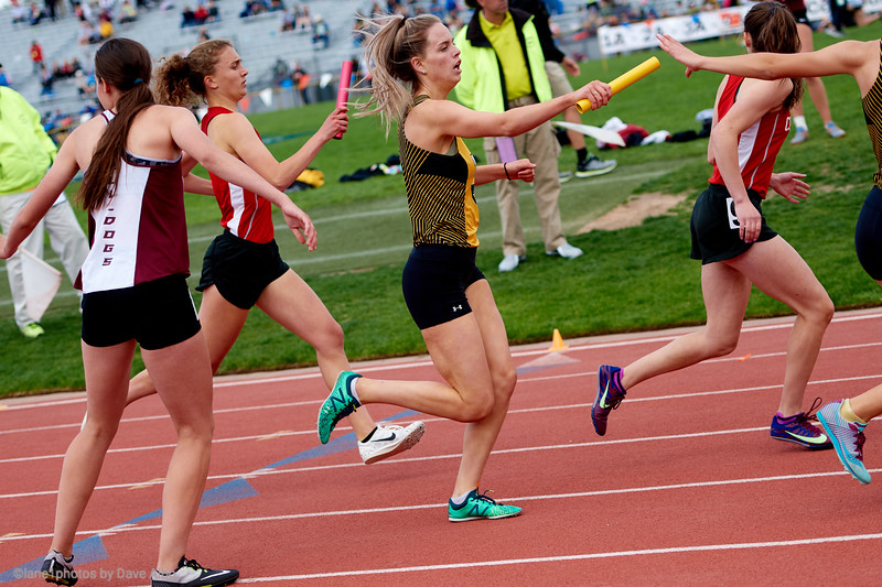 4x400 finals - Colorado High School State Championships  2019