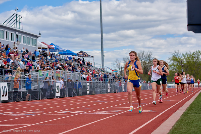 1600 meters - St Vrain Invite 2019
