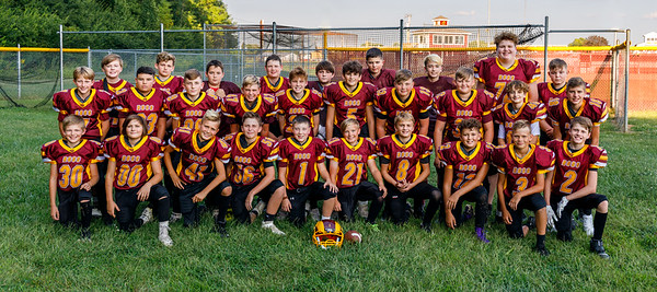 6th grade football group