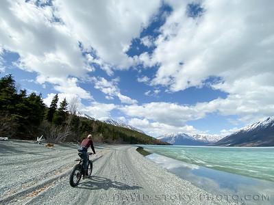 2020 04 25: Pleasure pedal. Kenai Lake, Alaska.