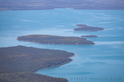 2020 08 21: Caribou, Little Caribou, and Frying Pan Islands. Skilak Lake, AK.