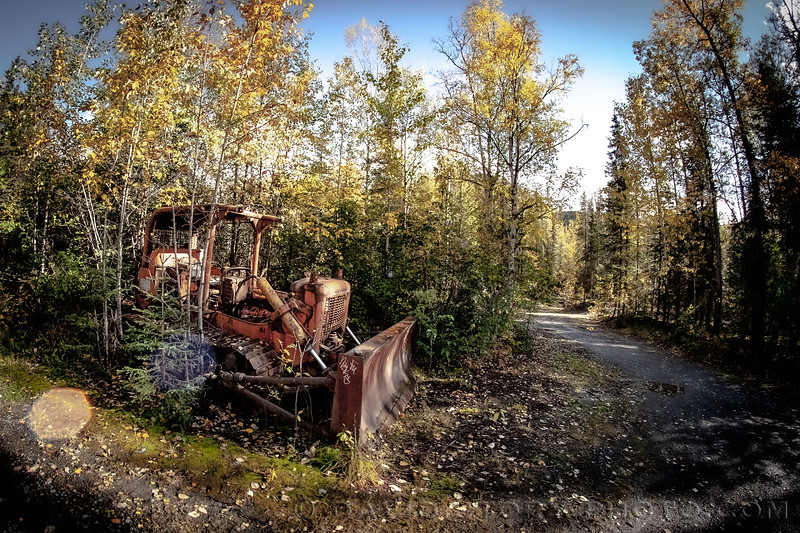 2020 09 17: Neighborhood dozer. Cooper Landing, AK.