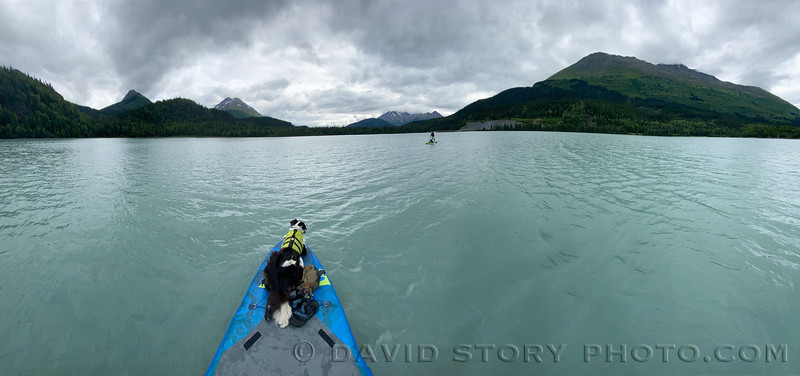 2020 07 17: Afternoon water tour. Lower Trail Lake, Moose Pass, AK.