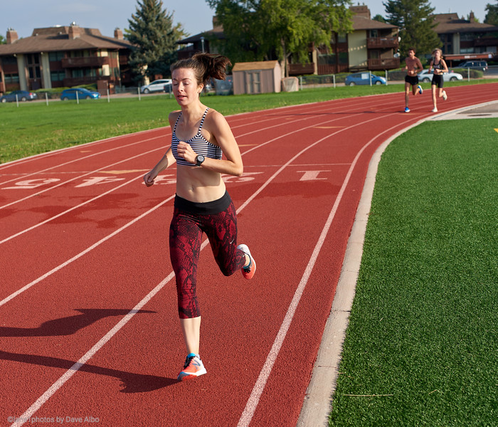 RISE workout - 3200 meters