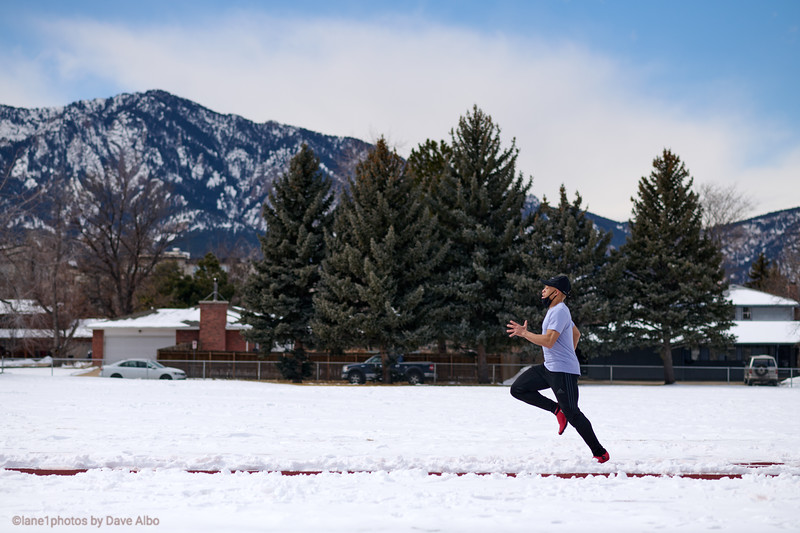 RISE workout - Snowy Saturday.