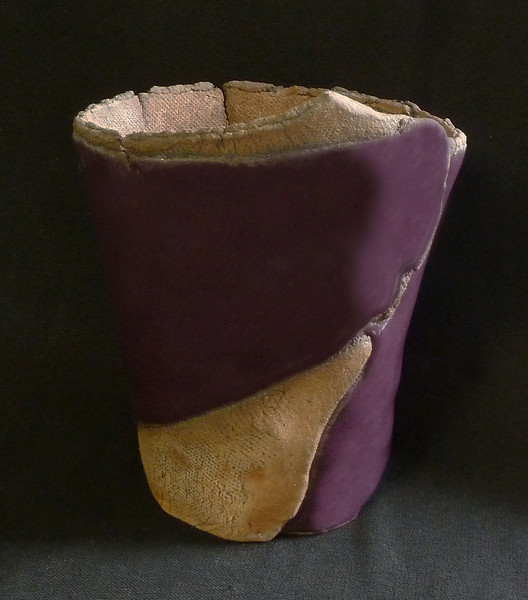 """#971 4 3/4"""" x 3 1/2"""" oval (at top), 4"""" deep, 6"""" tall"""