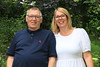 01 AUG 2021 – PICTURED: Cllr. Charlie Powell and Fiona Powell - Bobbit's Hole Open Day & Charity Stroll – Photo Copyright © Maria Fowler 2021