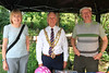 01 AUG 2021 – PICTURED: Linda Bailey (Hedgehog Haven Essex), Cllr. Ivan Henderson (Mayor of Harwich) and Steve Bailey (Hedgehog Haven Essex) - Bobbit's Hole Open Day & Charity Stroll – Photo Copyright © Maria Fowler 2021
