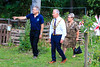 01 AUG 2021 – PICTURED: Colin Farnell (Chairman, The Harwich Society), Cllr. Jo Henderson (Mayoress of Harwich), and Cllr. Ivan Henderson (Mayor of Harwich) - Bobbit's Hole Open Day & Charity Stroll – Photo Copyright © Maria Fowler 2021