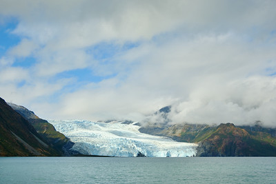 Aialik Glacier, Kenai Fjords National Park.