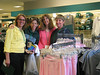 Tau Omega sisters shopping at the PSU bookstore
