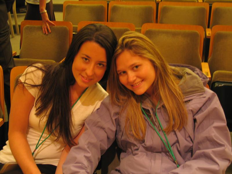 Student Ambassadors Brittany & Allison