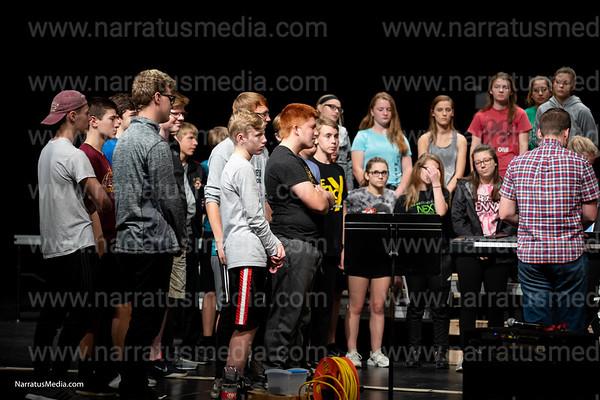 Legacy Show Choir Practice 2018