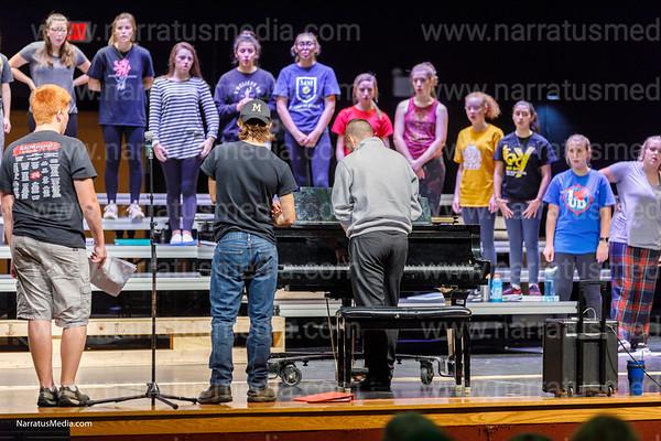 Legacy Show Choir Practice