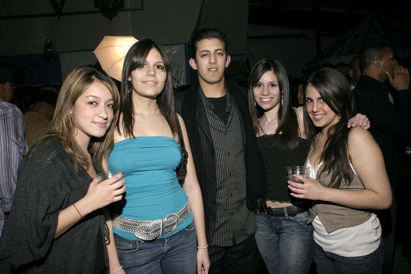 Andrea Vasquez, Valeria Flores, Outman Yanouri, Angela Flores, Jennifer Hord