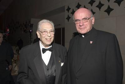 Bob Goldstein (chair of auction), Father Ron Schwenzer