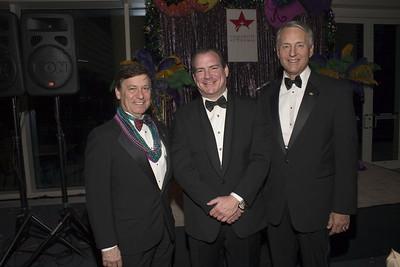 Ken De Dominickis, Michael Cordua, Dr. Robert Ivany