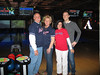 Alumni bowling at Jillian's