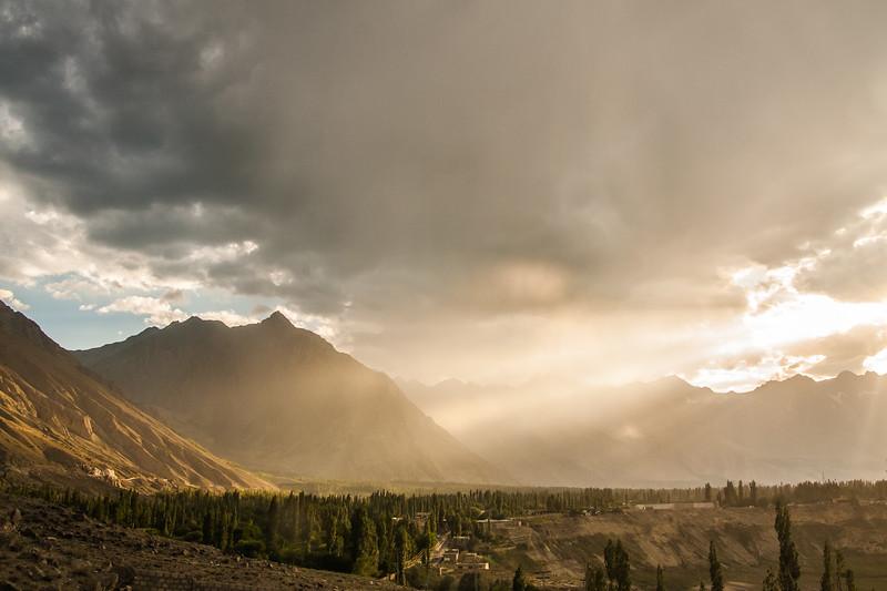 Indus valley near Skardu, Baltistan