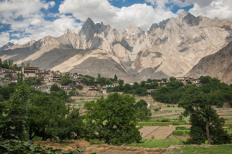 A village in the Hushe valley, Baltistan