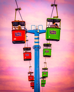 Sky Ride at Sunset