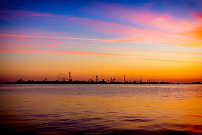 Cedar Point Sunrise 2016