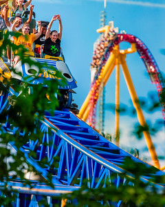 Millenium Force and Top Thrill Dragter