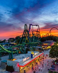 Cedar Point Sunset