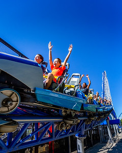Having fun on Millennium force