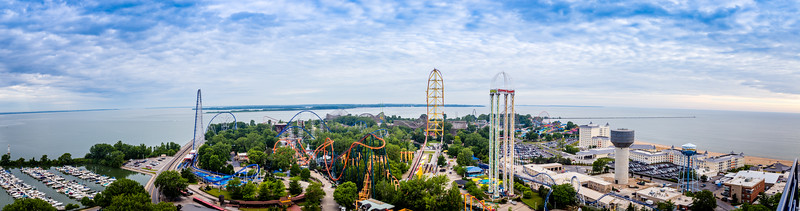Panorama from atop Valravn