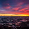 Cedar Point Skyline Sunrise