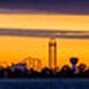 Cedar Point Panoramic Skyline 2016
