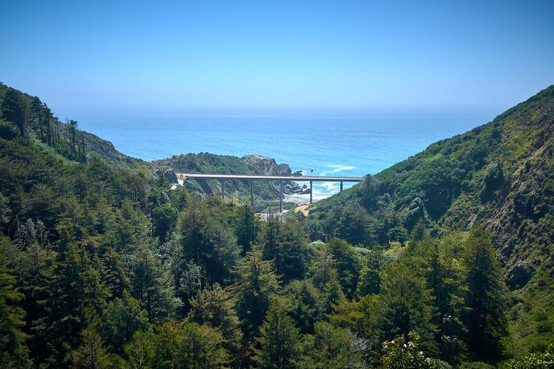 view of pch bridge