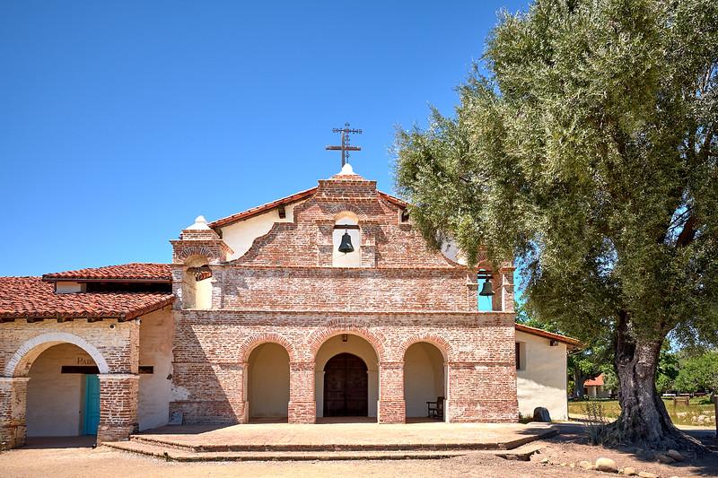 Mission San Antonio de Padua, founded in 1771