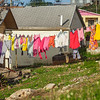 Laundry day in Gregory Town