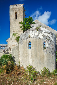 St. Mary's, The Bight, Long Island, built by the Spanish some time around the late 17th century