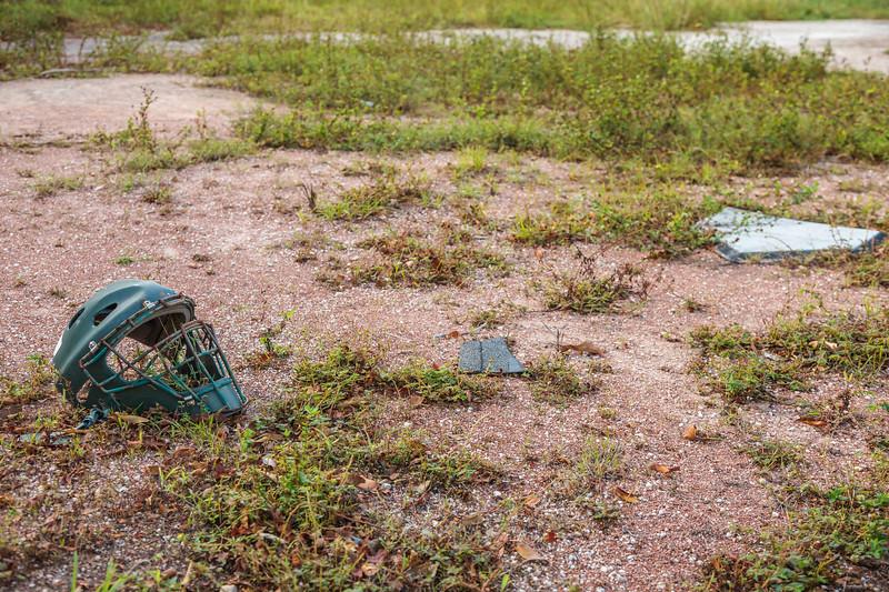 Baseball field near New Plymouth, Green Turtle Cay