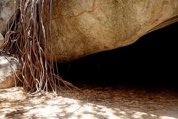 Boulder formations at The Baths, Virgin Gorda