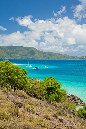 Little Jost Van Dyke, Sandy Spit, and Tortola