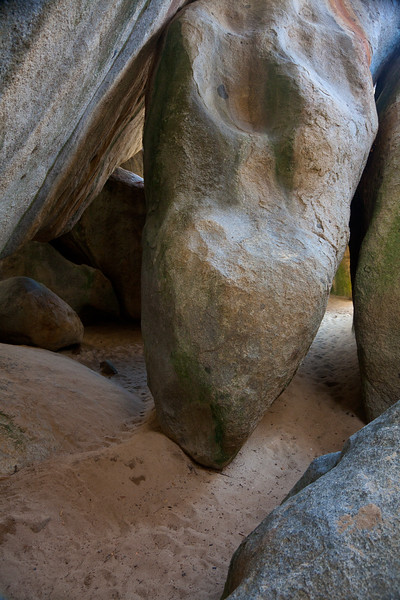 Boulder formations at The Baths, Virgin Gorda