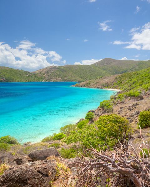 Looking towards Jost Van Dyke from Little Jost Van Dyke