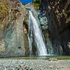 The Salto de Jimenoa waterfall in the mountains of the Dominican Republic