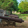 "The 16th-century ""shooting platform"" at Fortaleza Ozama in Santo Domingo"