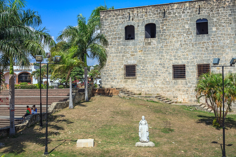 The Alcazar de Colon was the home of Diego Colombus, son of Christopher Colombus and was the Governor of the Indies succeeding his father in the early 1500s.  Santo Domingo.